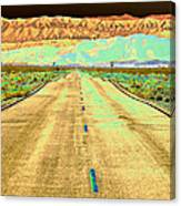 New Photographic Art Print For Sale Long Road To The Valley Of Fire Canvas Print