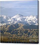 New Photographic Art Print For Sale Palm Springs Wind Farm Landscape Canvas Print