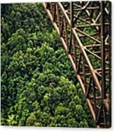 New River Gorge Bridge Steel Canvas Print