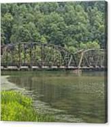 New River Scene 15 B Canvas Print