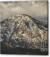 New Snow On Maggie's Peak Canvas Print