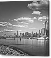 New World Trade Center Bw Canvas Print