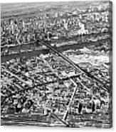 New York 1937 Aerial View  Canvas Print