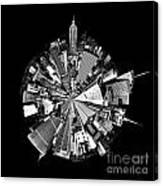 New York 2 Circagraph Canvas Print