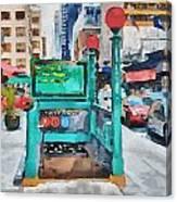 New York 8 Canvas Print