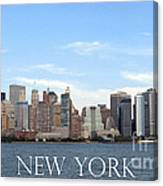 New York As I Saw It In 2008 Canvas Print