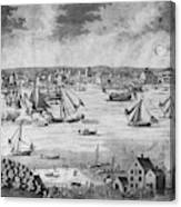 New York City, 1717 Canvas Print