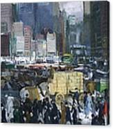 New York City 1900s Canvas Print