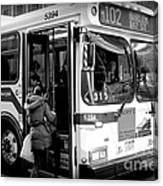 New York City Bus Canvas Print