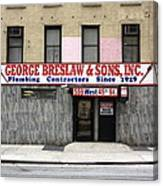 New York City Storefront 4 Canvas Print