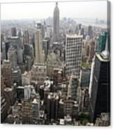New York City Canyons Canvas Print