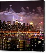 New York City Celebrates Canvas Print