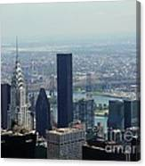 New York City Chrysler Building Canvas Print