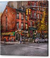New York - City - Corner Of One Way And This Way Canvas Print