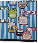 New York City Eatery Canvas Print