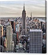 On Top Of The Rock Canvas Print