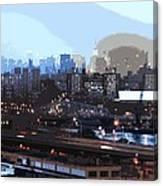New York City Evening Sky Canvas Print