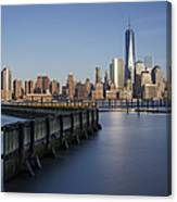 New York City Financial District Canvas Print