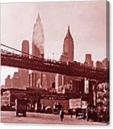 New York City Fine Art 102 Canvas Print