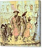 New York City Jews - Fine Art Canvas Print