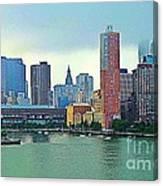 New York City Landscape Canvas Print
