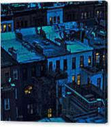 New York City Nightfall Canvas Print