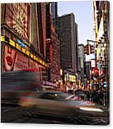 New York City Rush Canvas Print