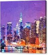 New York City - Skyline 0 Canvas Print