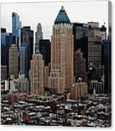 New York City Skyline 19 Canvas Print