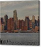 New York City Skyline Panoramic Canvas Print