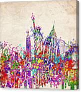 New York City Tribute 2 Canvas Print