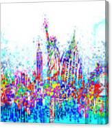 New York City Tribute 3 Canvas Print