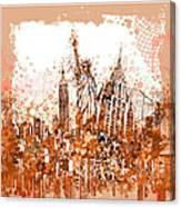 New York City Tribute 4 Canvas Print