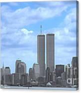 New York City Twin Towers Glory - 9/11 Canvas Print