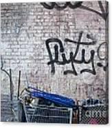 New York City Wall Canvas Print
