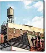 New York City Water Tower 2 Canvas Print