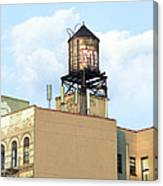 New York City Water Tower 4 - Urban Scenes Canvas Print