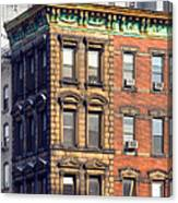 New York City - Windows - Old Charm Canvas Print