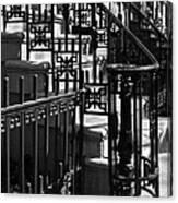 New York City Wrought Iron Canvas Print