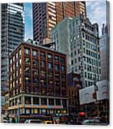 New York Energy Canvas Print