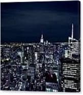 New York Evening Canvas Print