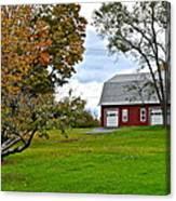 New York Farm Canvas Print