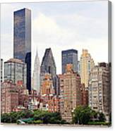 New York From Roosevelt Island Canvas Print
