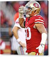 New York Giants V San Francisco 49ers Canvas Print