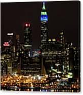 New York Honors Seattle Seahawks Canvas Print