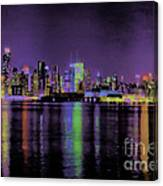 New York In Color Canvas Print