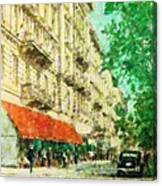 New York In The Forties Canvas Print