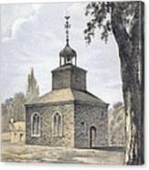 New York: Jamaica Church Canvas Print