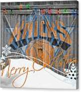 New York Knicks Canvas Print