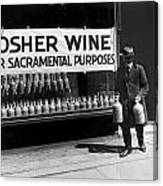 New York Kosher Wine For Sale Canvas Print